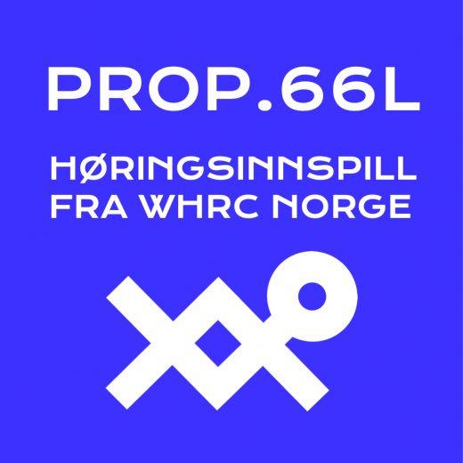 HØRINGSINNSPILL WHRC NORGE_PROP.66L